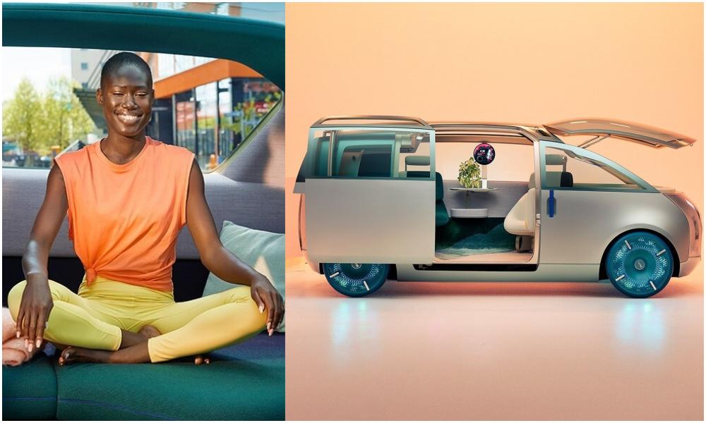 Cette voiture-maison est conçue pour mater des séries, dormir ou faire du yoga
