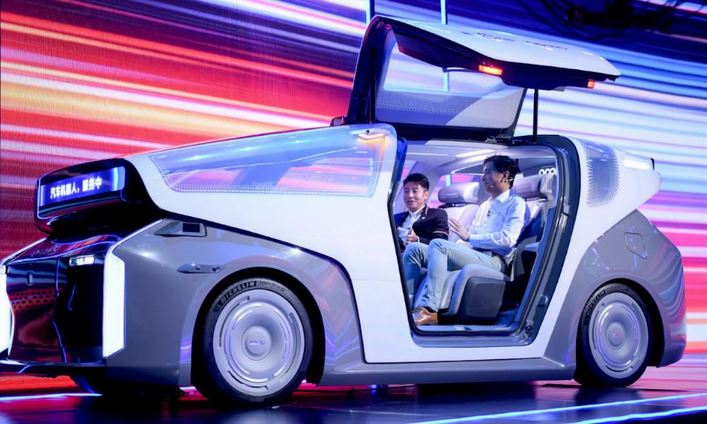 Dès les JO de 2022, ces robots-taxis circuleront en Chine