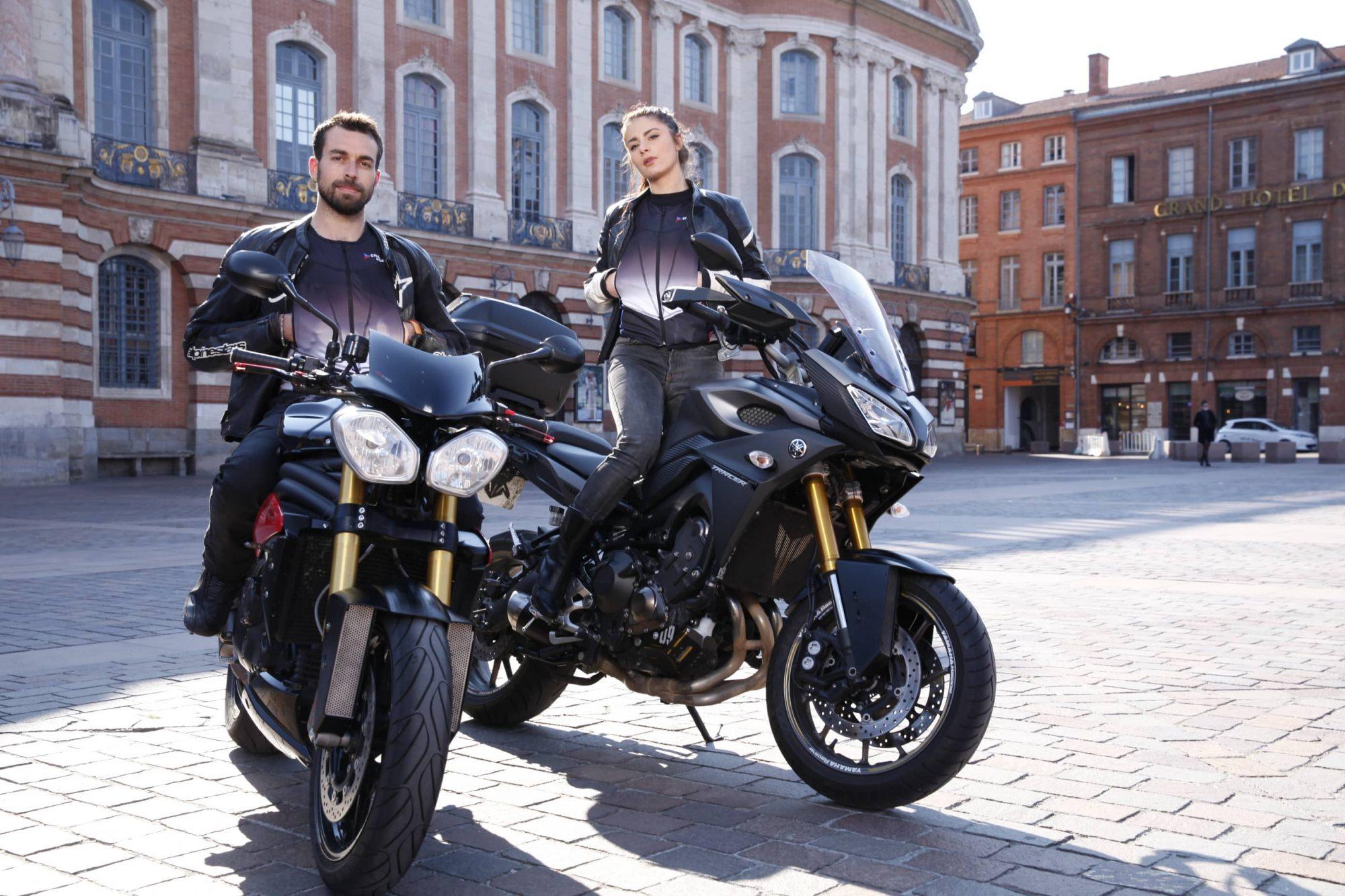 Vous l'attendiez, des Français l'ont inventée : la première clim' pour motards