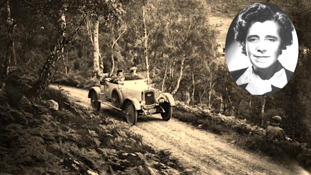 """Il y a un siècle, cette lady inventait la première """"voiture pour femmes"""""""