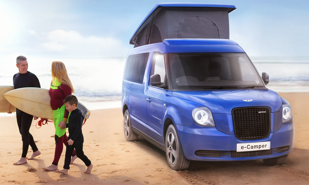Oh my god : les mythiques taxis anglais se transforment en camping-cars