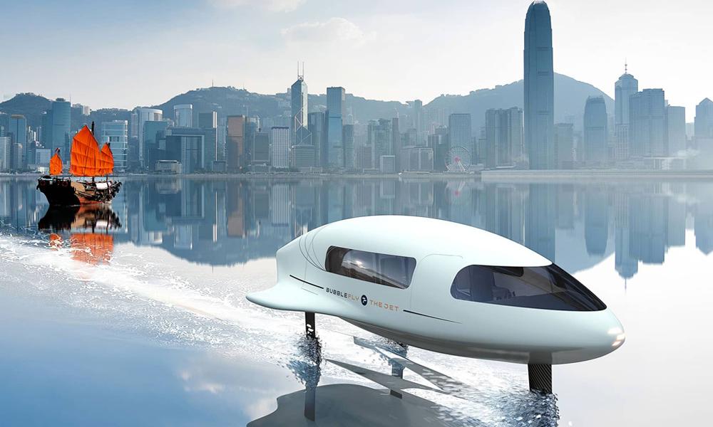 Ce bateau volant veut relier Saint-Tropez à Monaco sans polluer