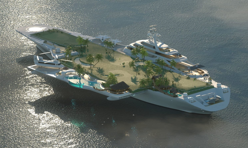 Transformer le mythique porte-avions Foch en yacht de luxe ? C'est le projet fou d'un Allemand