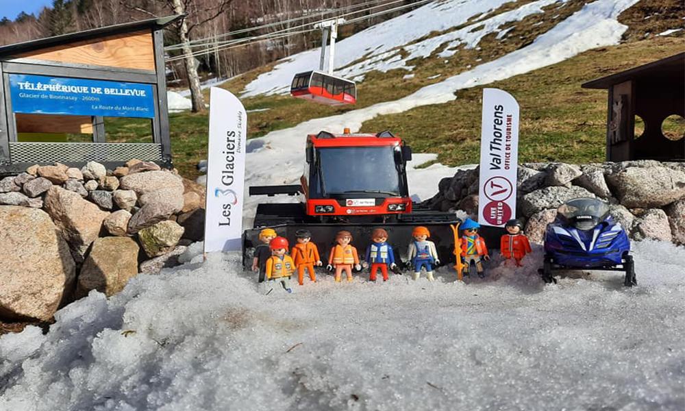 Même en pleine canicule, cette station de ski miniature reste ouverte
