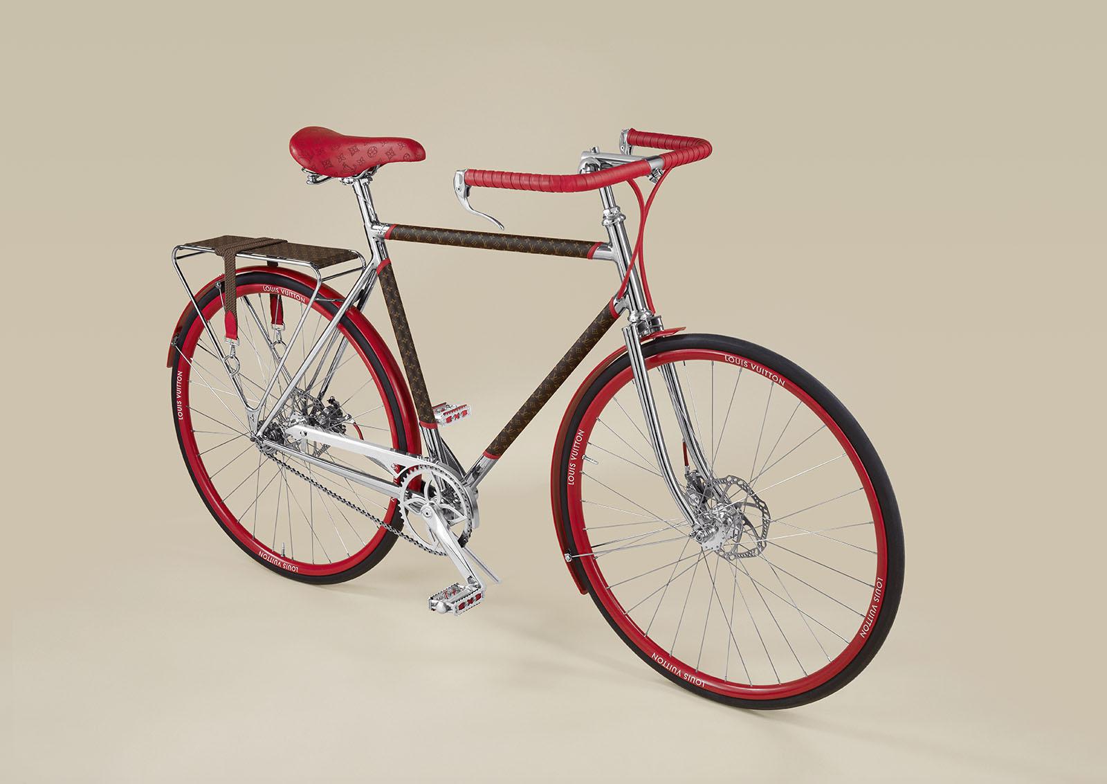 22 000 € : ce vélo Vuitton coûte aussi cher qu'une voiture !