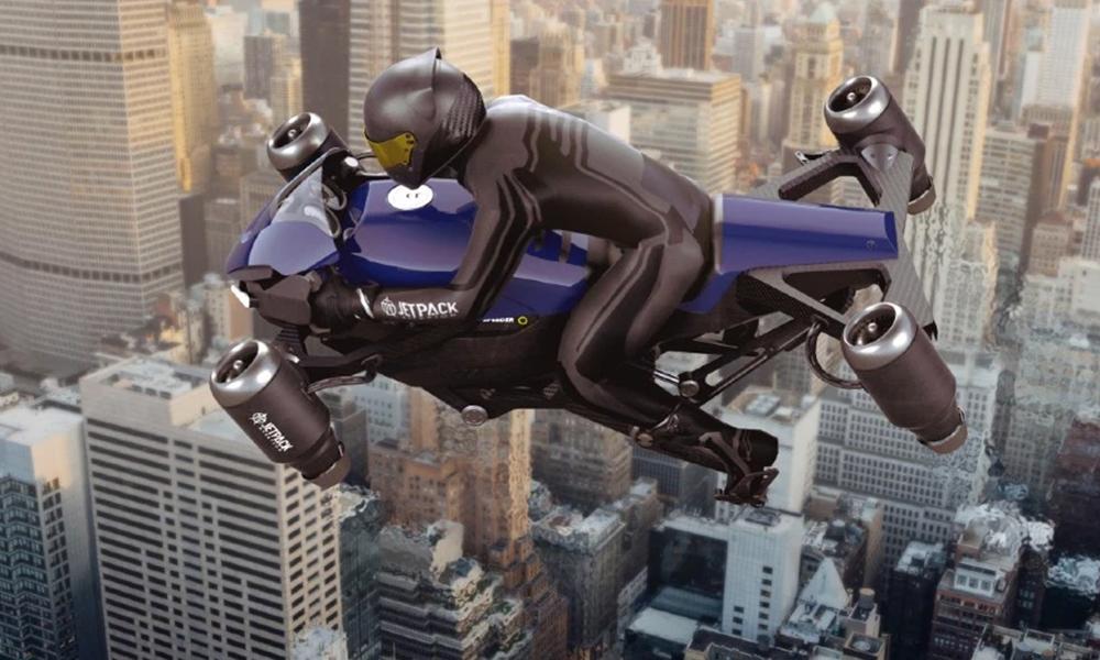 Voici Speeder, une moto volante à 320 000 € pour décoller dès 2023