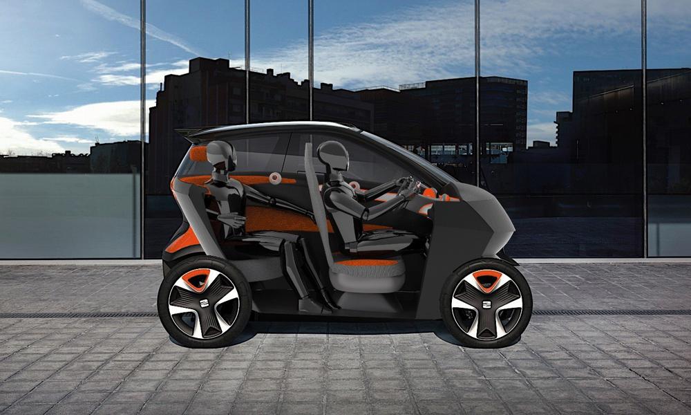 Fan de SEAT, ce designer crée la mini-voiture parfaite pour les embouteillages