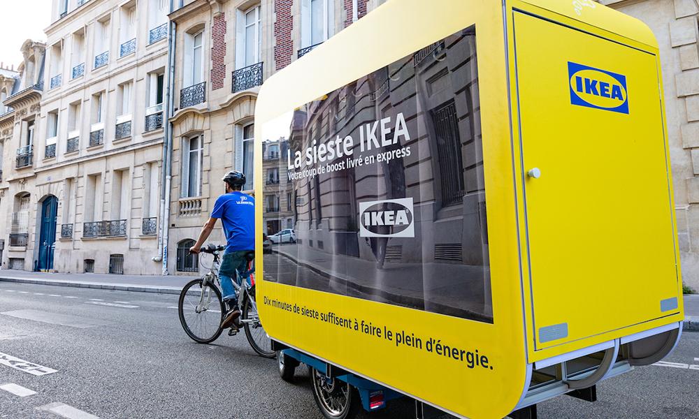 Déjà fatigué de la rentrée ? IKEA propose des capsules pour taper une sieste au boulot
