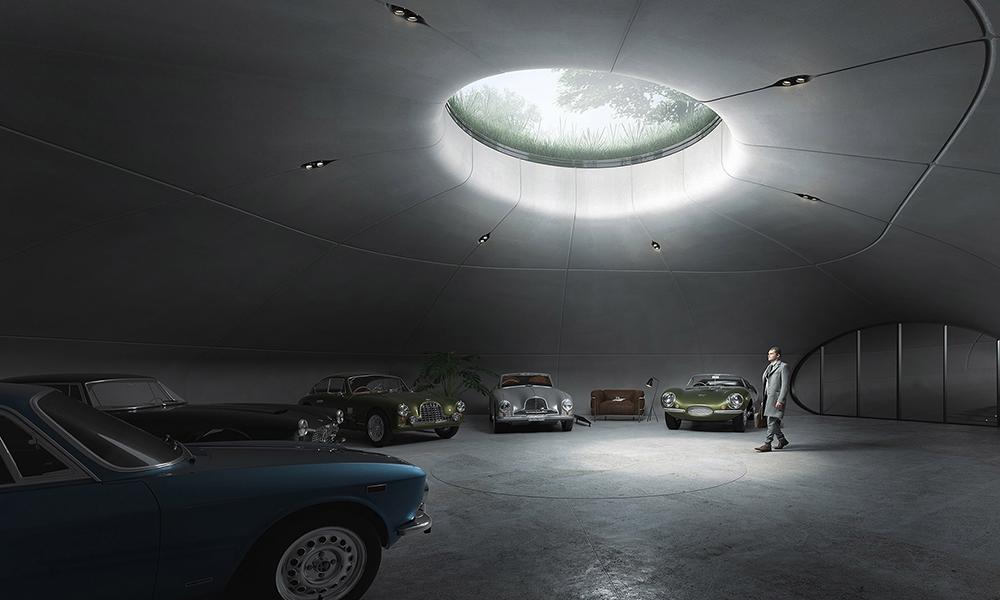 Vivez dans la peau de James Bond grâce à ce garage souterrain super luxe