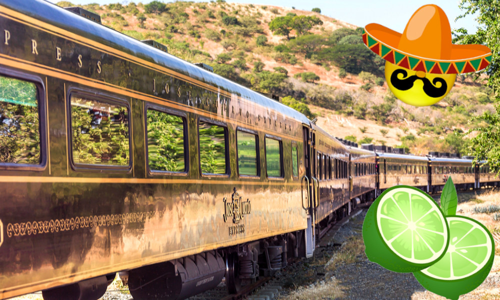 Caramba ! Il existe un train pour les fans de tequila
