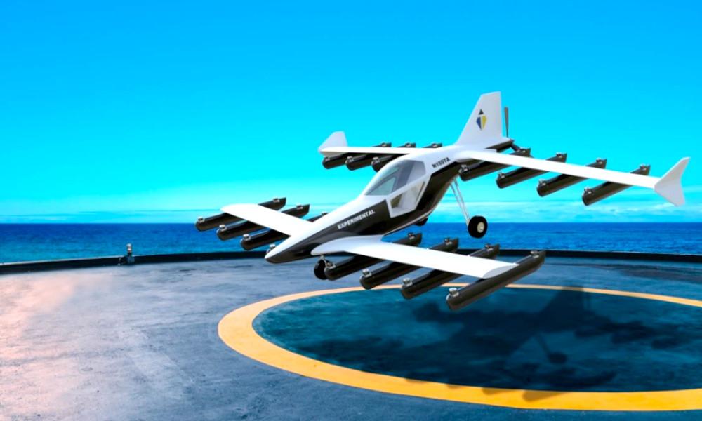 Précommandez cette voiture volante aux 32 rotors et dites adieu aux bouchons dès 2022
