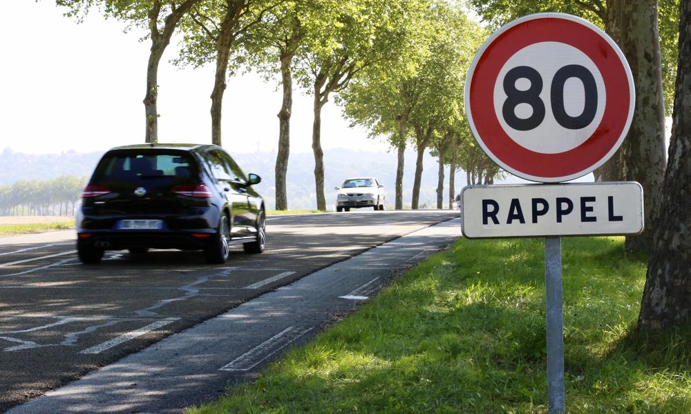 Le passage à 80 km/h aurait sauvé moins de vies que prévu, selon une étude
