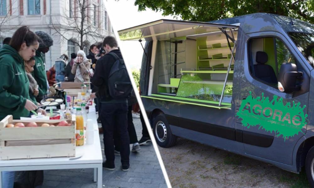 À Strasbourg, ce food truck solidaire vient en aide aux étudiants en difficultés