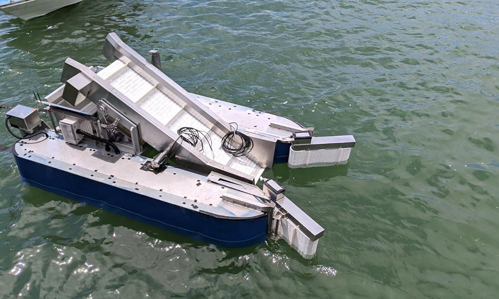 Ce bateau électrique est un Dyson des mers : il aspire les déchets des océans