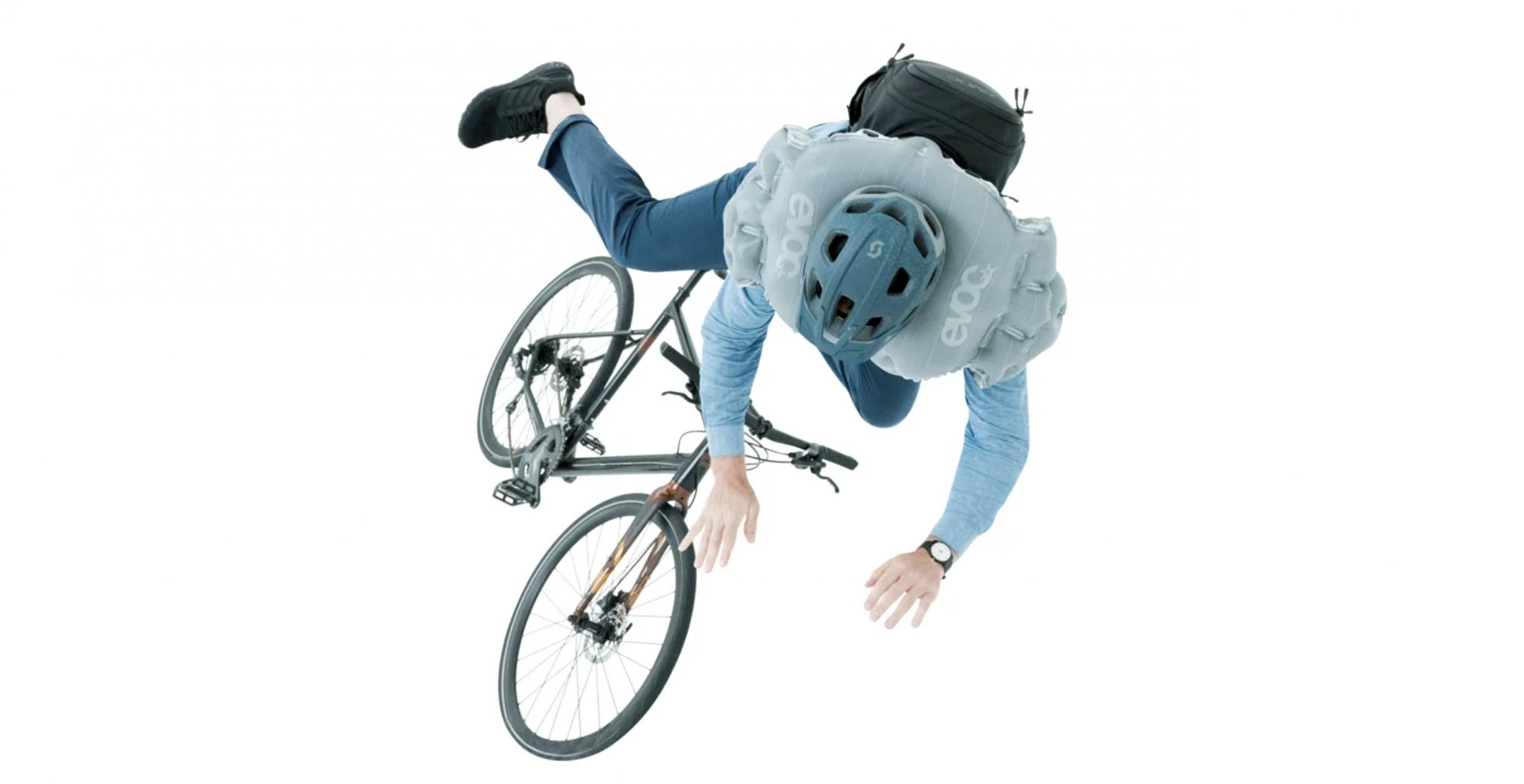 Ce sac à dos pour cycliste est un airbag qui se déclenche en un quart de seconde