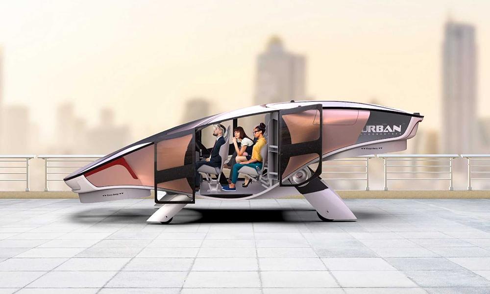 Ce taxi volant sans ailes peut foncer à 230 km/h