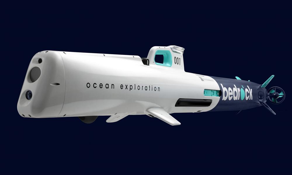 Bedrock, le sous-marin électrique qui veut comprendre et sauver les océans