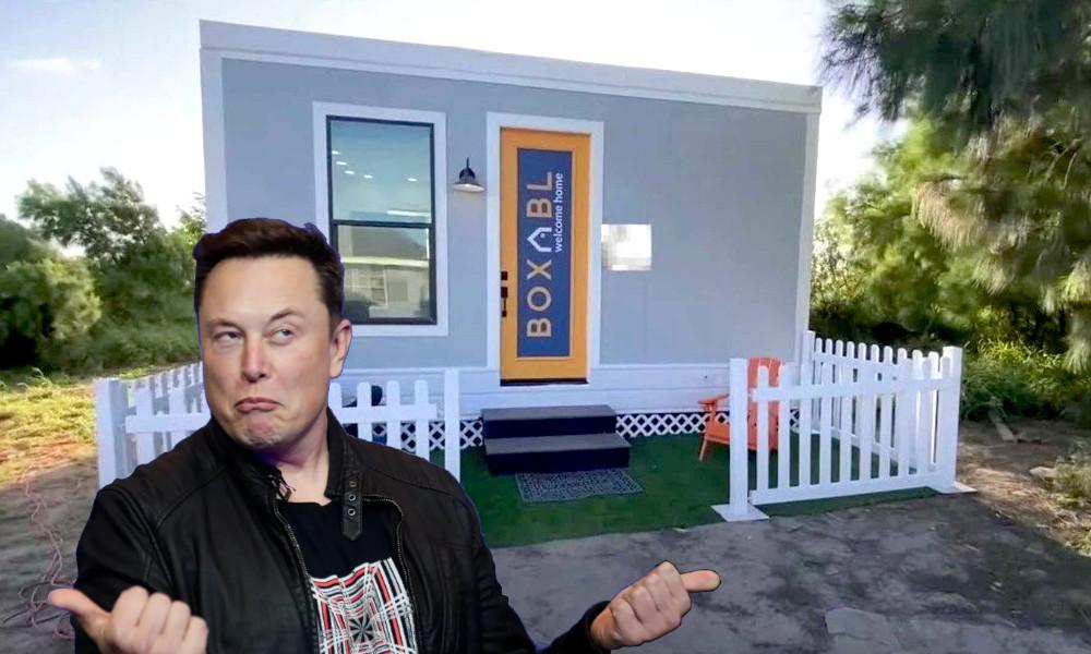 Cette maison pliable qui s'installe en une heure a fait craquer Elon Musk