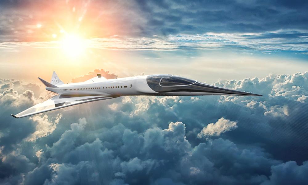 Paris-New York en 3H et sans polluer : c'est possible avec cet avion supersonique