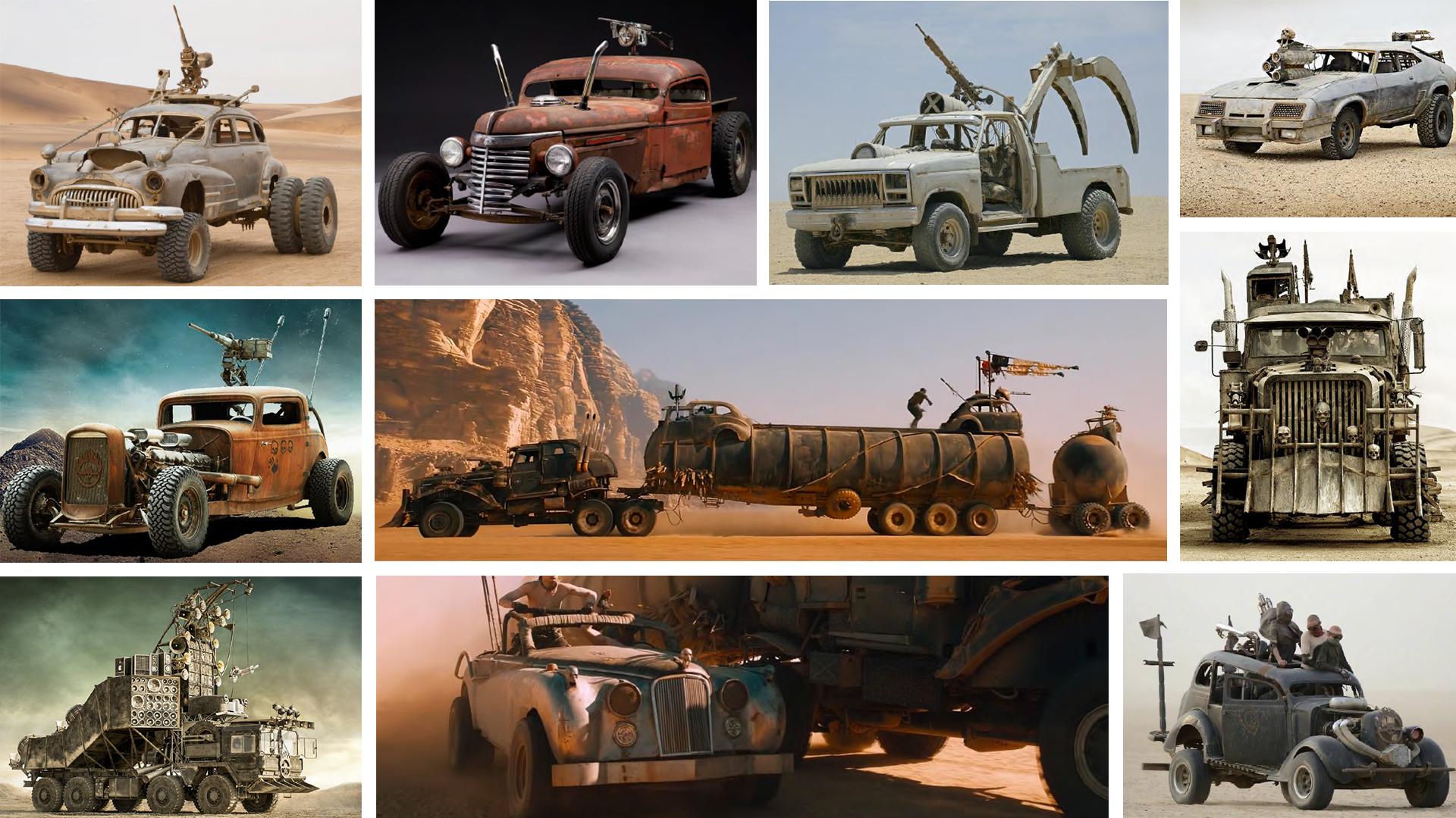 Alerte générale : les voitures folles de Mad Max sont à vendre