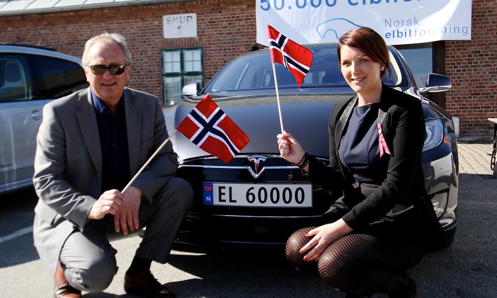 En Norvège, les voitures à essence ne représentent plus que 10% du marché automobile