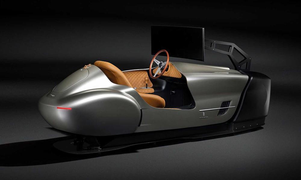Cette drôle de voiture à 140 000 € est conçue pour ne pas rouler