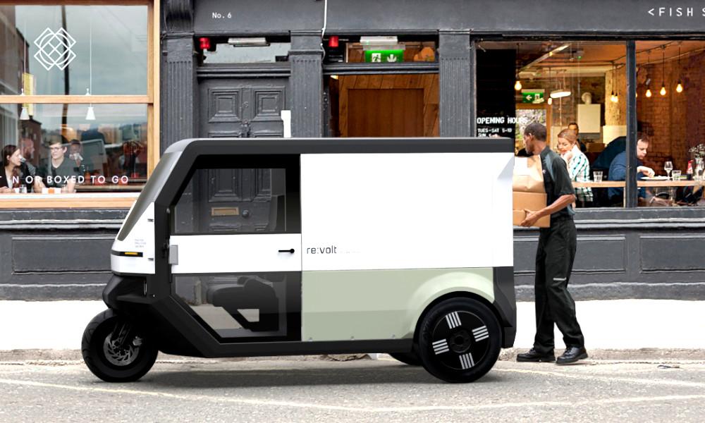 Demain, les livreurs ne pollueront plus les villes grâce à ce van électrique solaire