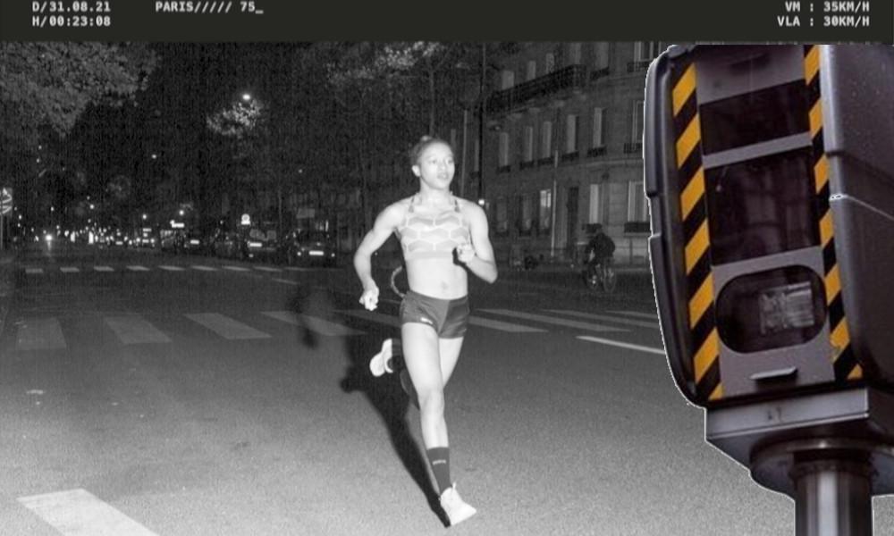 Ils courent à 30 km/h dans Paris et se font flasher par les radars