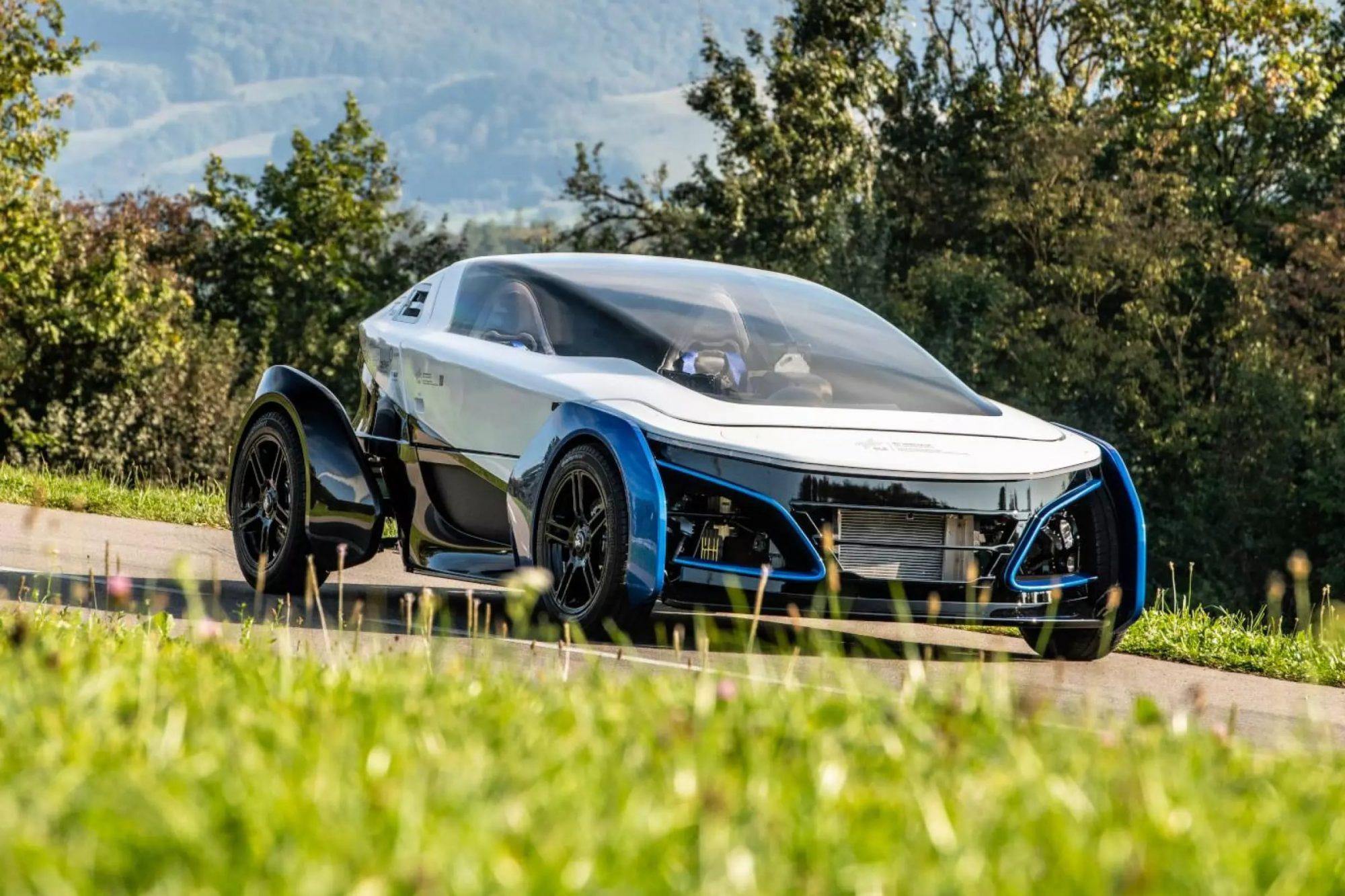 Increvable : cette mini-voiture à hydrogène peut rouler pendant 300 000 kilomètres