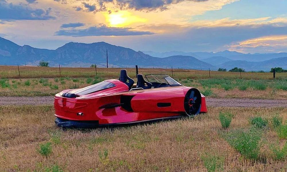 Eau, sable, route : ce supercar aéroglisseur de luxe peut rouler partout