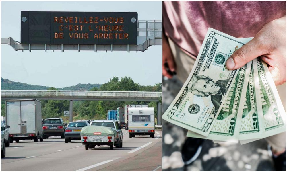 Ils font une pause pipi sur une aire d'autoroute et gagnent 1,7 million d'euros