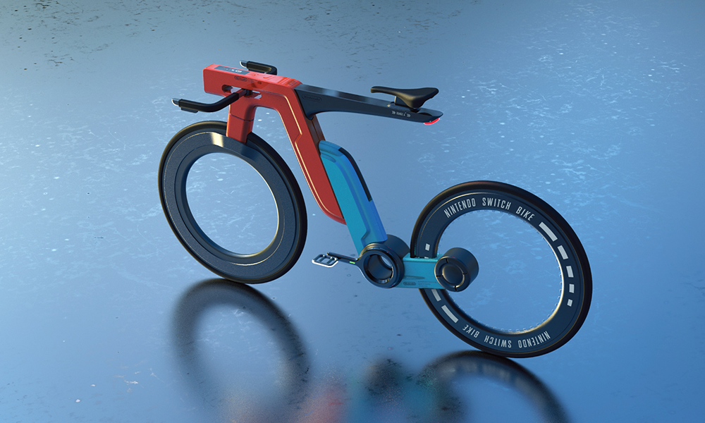 Mario aime ça : ce vélo électrique est inspiré par la Nintendo Switch