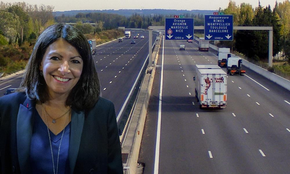 Anne Hidalgo veut-elle vraiment réduire la vitesse à 110 km/h sur l'autoroute ?