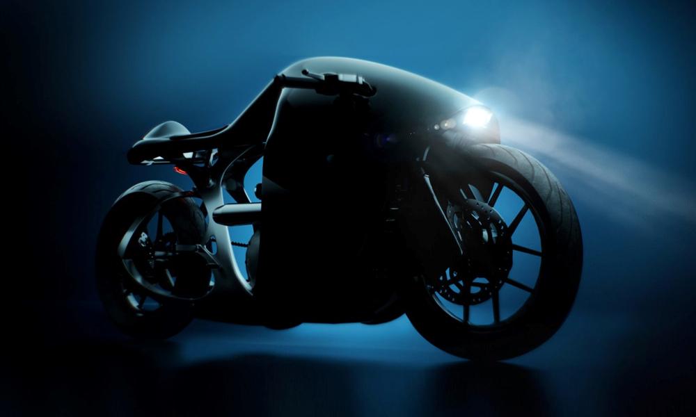 Ceci n'est pas la nouvelle moto de Batman, c'est la Supermarine