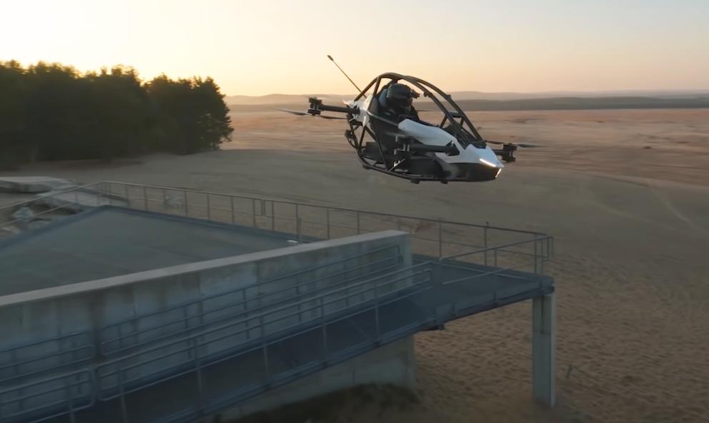 Pour 80 000 euros, partez au boulot dans ce kart volant