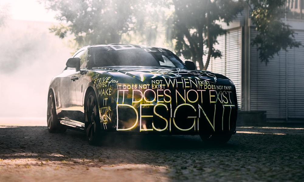 Fin d'une époque : même Rolls-Royce annonce un premier modèle électrique