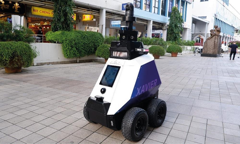 On vous présente Xavier, le robot-flic qui colle des PV aux piétons trop rebelles